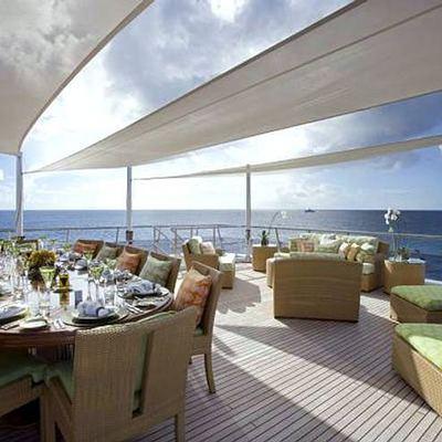 Lady Sheridan Yacht Sundeck Aft