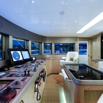 Liquid Sky Yacht Sky Bridge