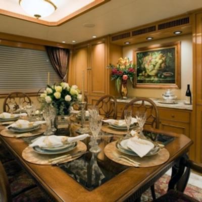 Sojourn Yacht Dining Salon