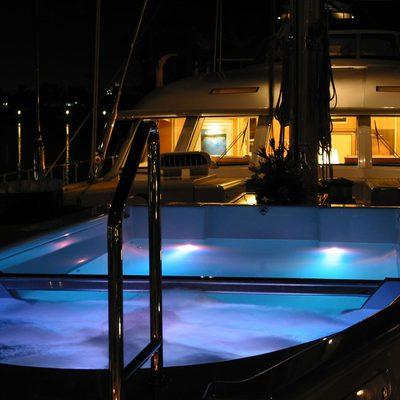 MITseaAH Yacht Deck - Night