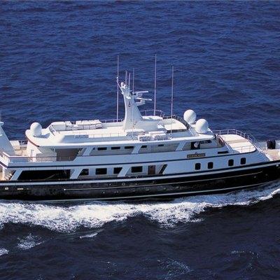 Atlantic Goose Yacht Running Shot - Profile