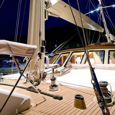Daima Yacht Froward Deck
