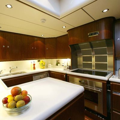 Infatuation Yacht Galley