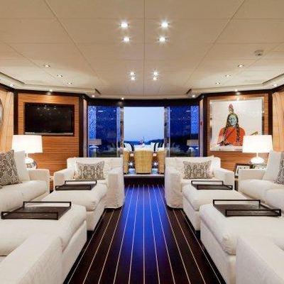 Lisa IV Yacht Main Salon