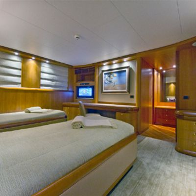 Solaia Yacht Guest Stateroom-Twin