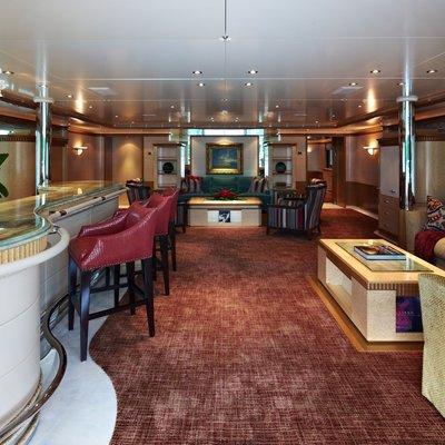 Pegasus VIII Yacht Upper Salon