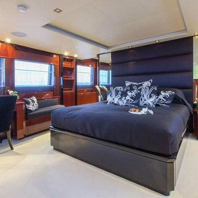 Whispering Angel Yacht Master Stateroom