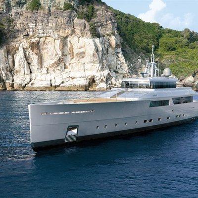 Exuma Yacht Side View