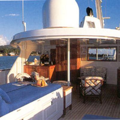 Trafalgar Yacht Top Deck Sunbathing