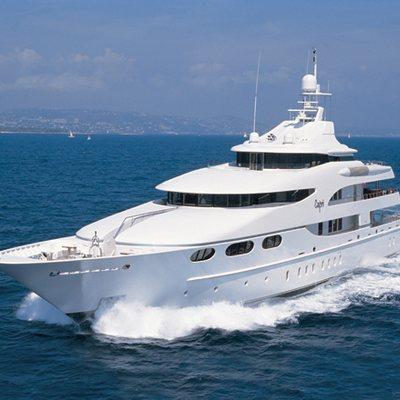 Capri I Yacht Running Shot - Front View