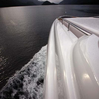 Usher Yacht Detail - Exterior