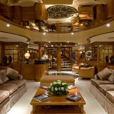 Lou Spirit Yacht Main Salon