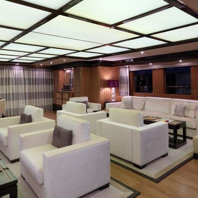 Meamina Yacht Interior Seating