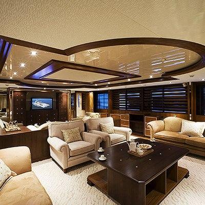 Princess Iolanthe Yacht Salon - Overview
