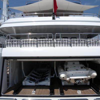 Diamond Yacht Tender Garage Open