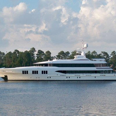 Carpe Diem Yacht Side View