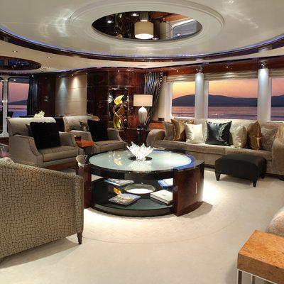 Talisman Maiton Yacht Main Saloon