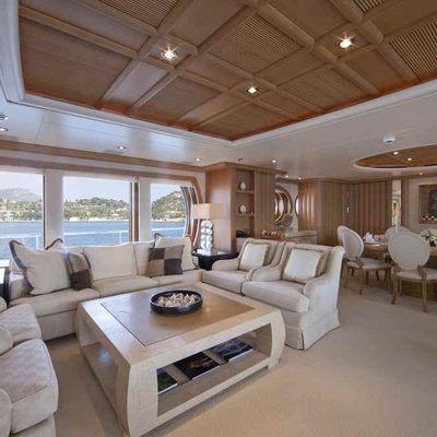Deja Too Yacht Main Salon