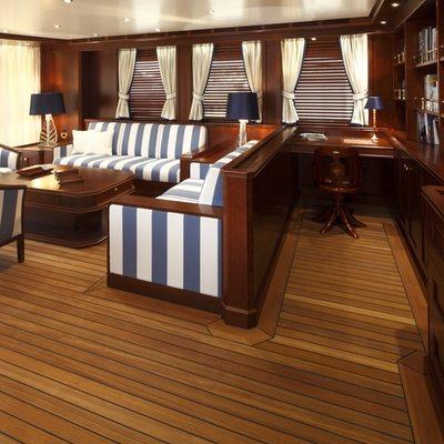 Axantha II Yacht Upper Lounge