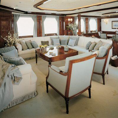 Jasmine Yacht Main Saloon