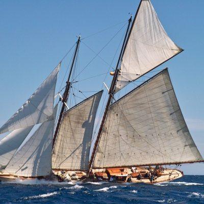 Sunshine Yacht Side View
