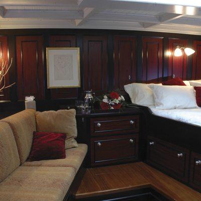 Shamrock V Yacht Master Stateroom