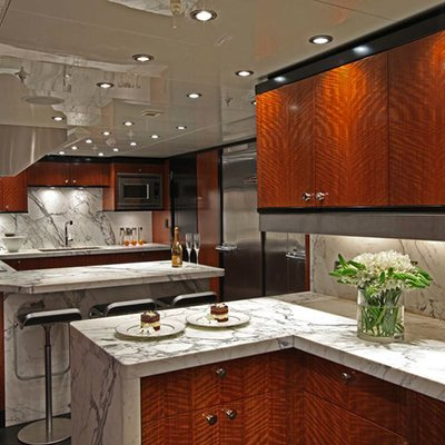 Carpe Diem Yacht Galley
