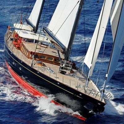 Marie Yacht Running Shot - Front View