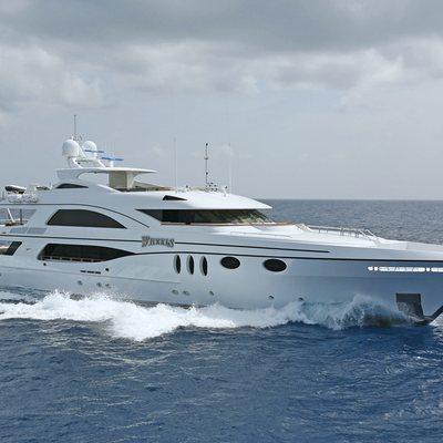 Wheels Yacht Running Shot - Profile