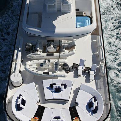 Virginian Yacht Overhead Deck View