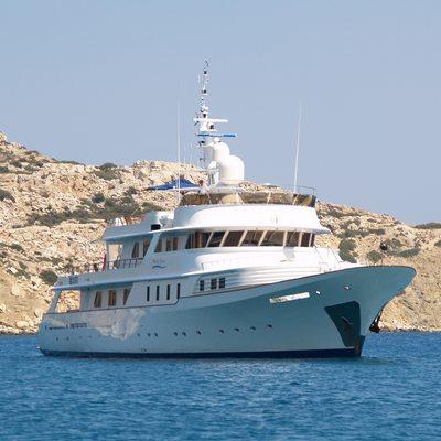 Shake N Bake TBD Yacht At Anchor