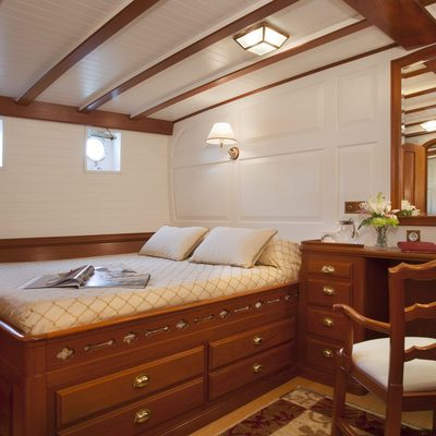 Elena Yacht Guest Stateroom