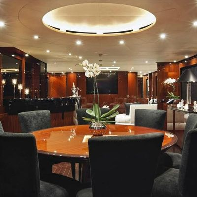 Whispering Angel Yacht Dining Salon