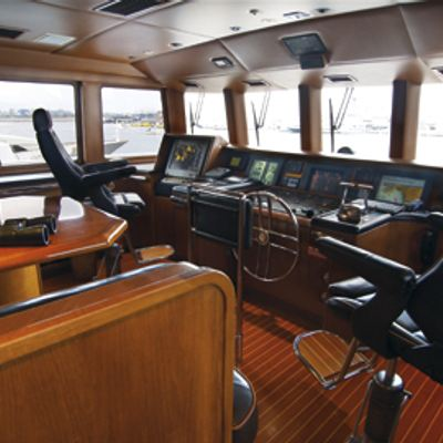 Inspiration Yacht Pilothouse