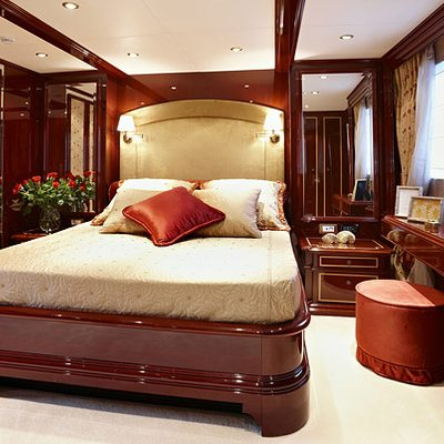 Iraklis L Yacht Guest Stateroom