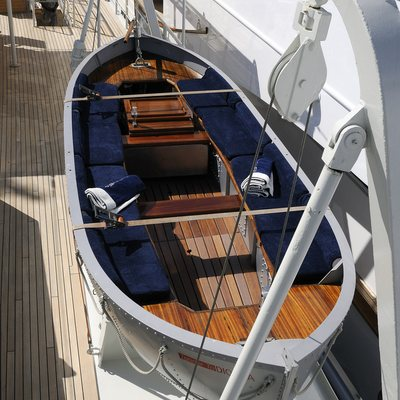Dionea Yacht Tender - Overhead