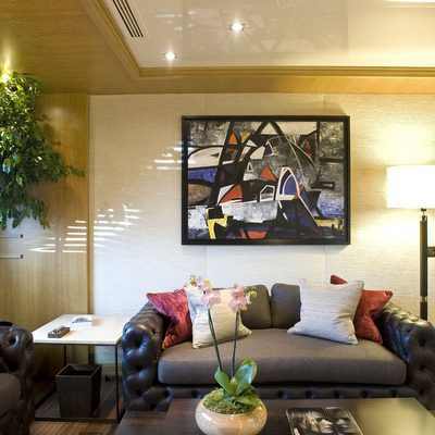 Neom Yacht Lounge Area