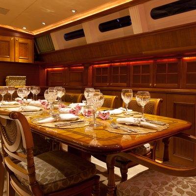 Genevieve Yacht Dining Salon