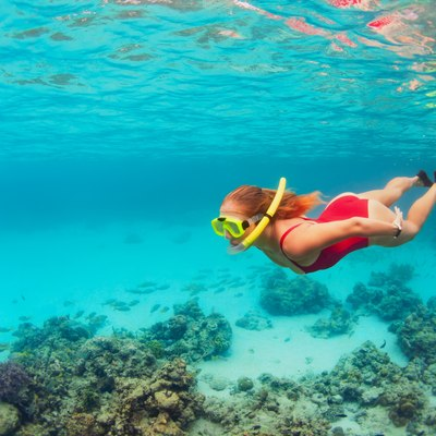 Dive in at Rum Cay