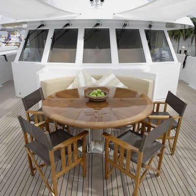 Perle Bleue Yacht Dining Table
