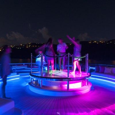 Solandge Yacht Convertible Dance Floor