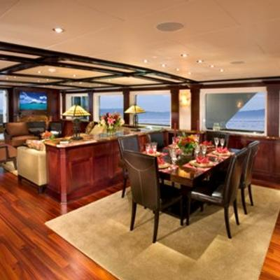 L'Albatros Yacht Main Deck