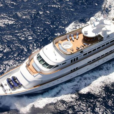 Ionian Princess Yacht Overhead