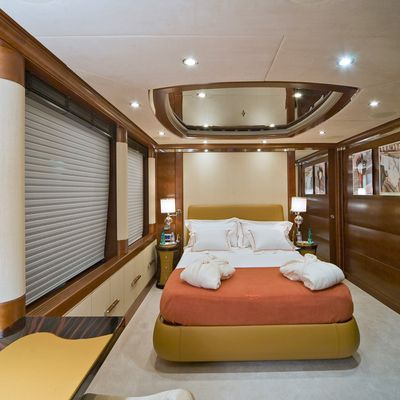 Latitude Yacht Red Guest Stateroom