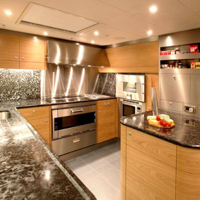 Q Yacht Galley
