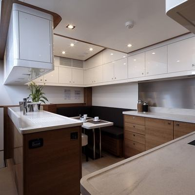 Arion Yacht Galley