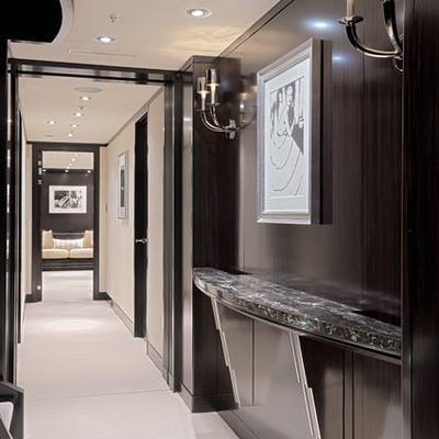 Carpe Diem Yacht Hallway