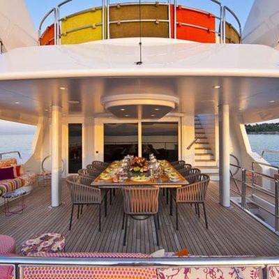 Daloli Yacht Exterior Dining