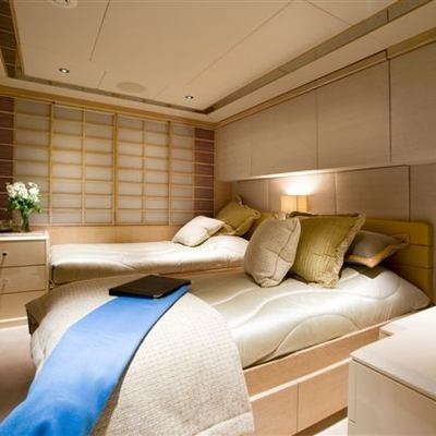 Va Bene Yacht Twin Stateroom