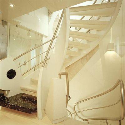 Vera Yacht Staircase